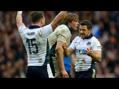 Scotland's first win against France for 10 YEARS!