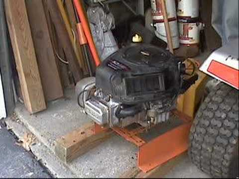 Quot Bench Quot Testing A 2004 10hp Briggs Amp Stratton Ohv Motor
