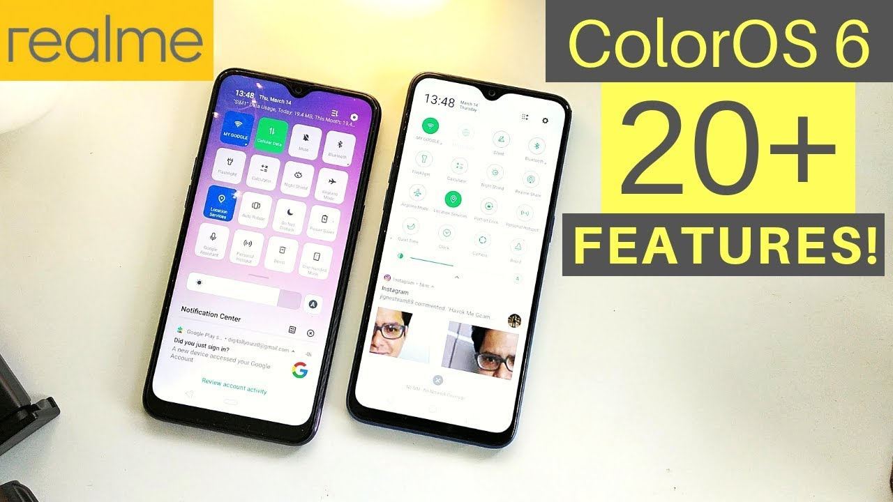 ColorOS 6 20+ New Features and Changes | Tips & Tricks (Part 1) Hindi!