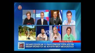 Youweekly.gr: Ο Νίκος Νικολόπουλος για το Survivor και το ΕΣΡ