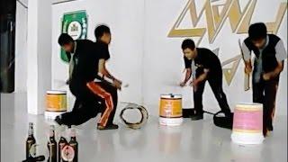 Perkusi Barang Bekas Juara Provinsi Mantap (HD) !
