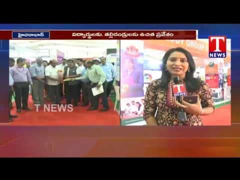 Live Report from Telangana's Golden Education Fair 2019