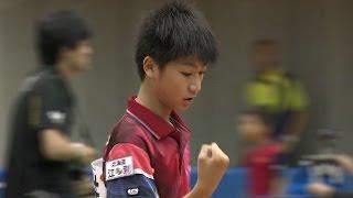 【全農杯 全日本卓球選手権大会 ホープス・カブ・バンビの部】ダイジェスト⑯