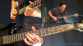 No More Tears Guitar Solo Lesson - Ozzy Osbourne - Famous Solos