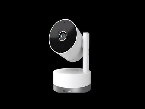 Smart Home Security Camera I 360° 2MP 1080p I Godrej Eve Nx PT I CCTV