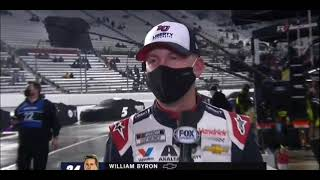 William Byron Interview During Rain Delay   2021 NASCAR Cup Series Martinsville