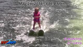 Youngest Water skier in the World - Zyla St. Onge