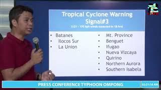 Typhoon 'Ompong' makes landfall at Baggao, Cagayan