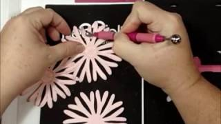 Making A Floral Centerpiece Using Heartfelt Creations
