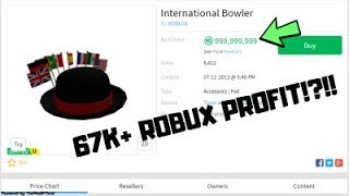 ROBLOX Projecting - CRAZY FIRST PROJECTION!! (67K+ ROBUX PROFIT)