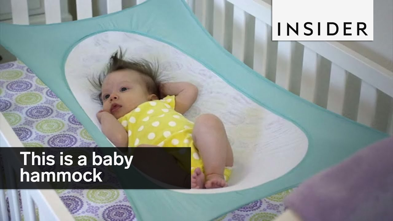 This Baby Hammock Keeps Your Infants Safe And Comfy