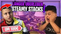 😱*LÄNGER ÜBERLEBEN WETTE* IN STEAMY UM 100€! | Wick Brothers Gaming