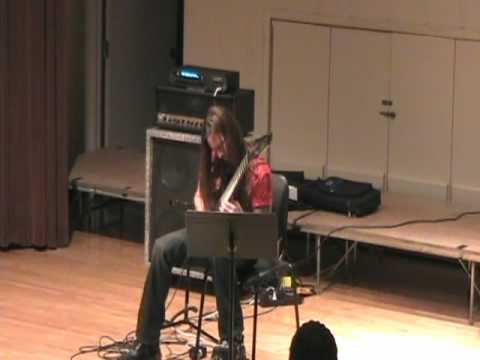 Rusty Cooley's unaccompanied Guitar Solo from his clinic at College of the Mainland
