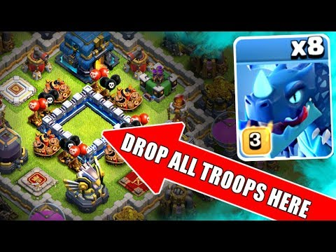 WHAT HAPPENS WHEN YOU POKE THE HOLE!? - Clash Of Clans