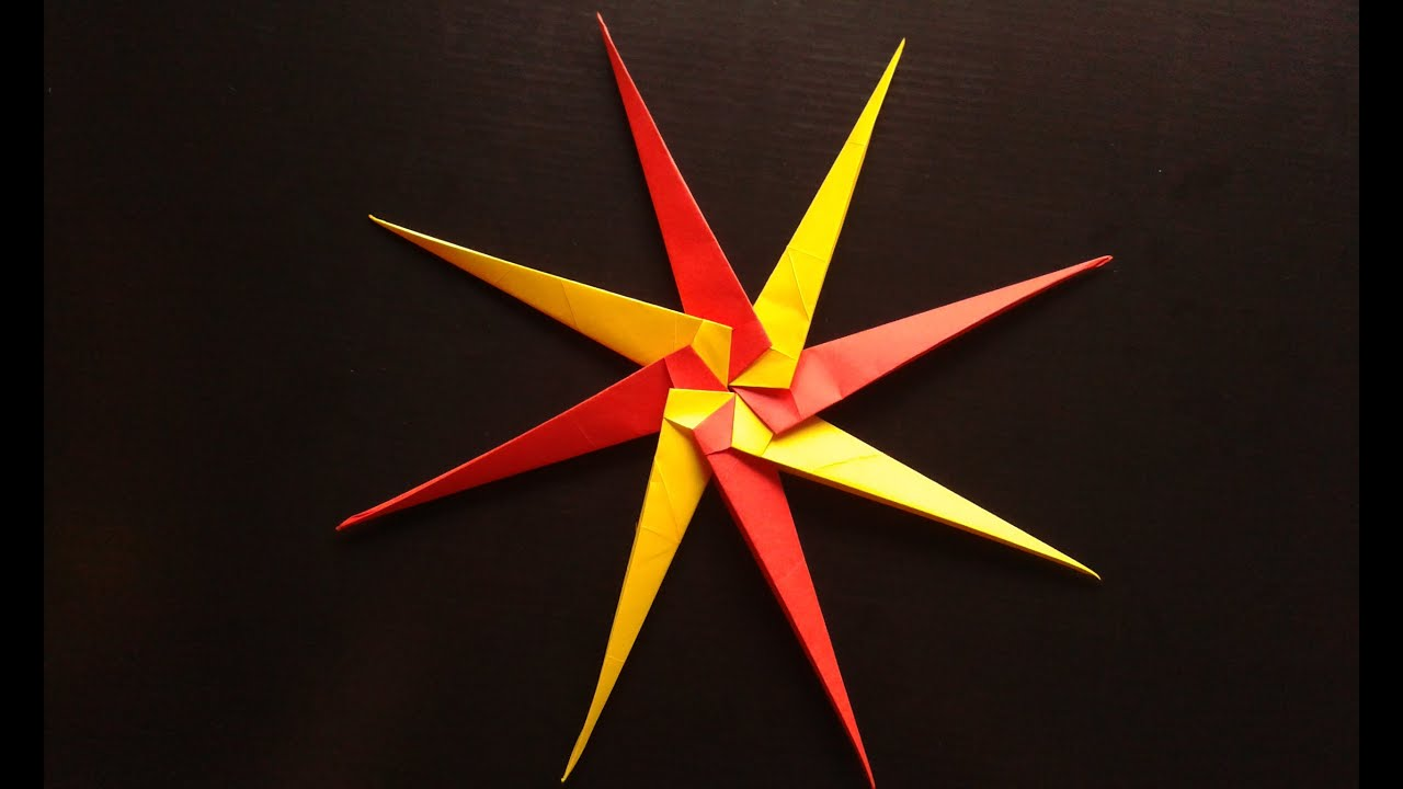 origami ninja star youtube