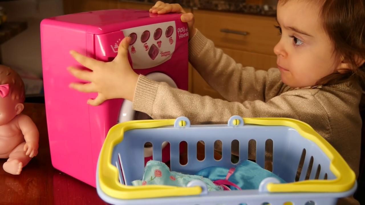 washing baby toys