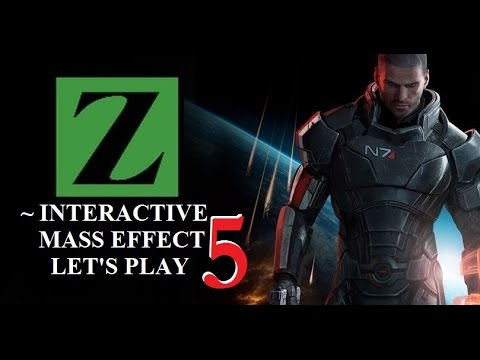 Mass Effect - INTERACTIVE LET'S PLAY - So Many Talking!