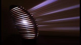 Woodturning - The Plywood Larvae Lamp