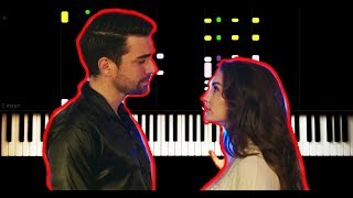 AFILI AŞK - Aydilge - Hayat Şaşırtır! - Piano Tutorial by VN