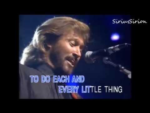 To love somebody (Bee Gees Karaoke)