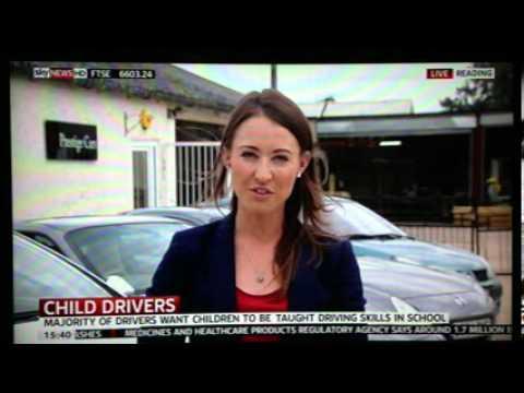Rebecca Jackson Talks to Sky News Live - Young Drivers