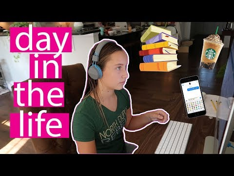 DAY IN THE LIFE OF A TEEN! HOMESCHOOL STYLE