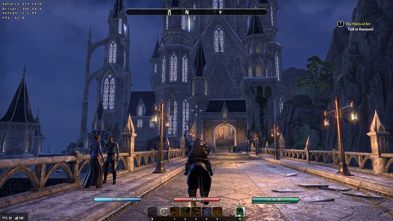 The Elder Scrolls Online Linux - Steam Play Proton 3 16-1 beta