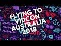 flying to vidcon australia 2018