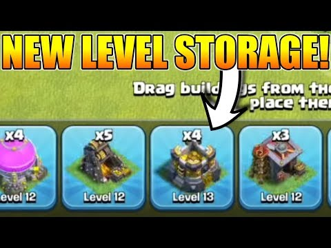 NEW LEVEL 13 GOLD STORAGE LEAKED IN TOWN HALL 12? | TH12 UPGRADE TIME LEAKED