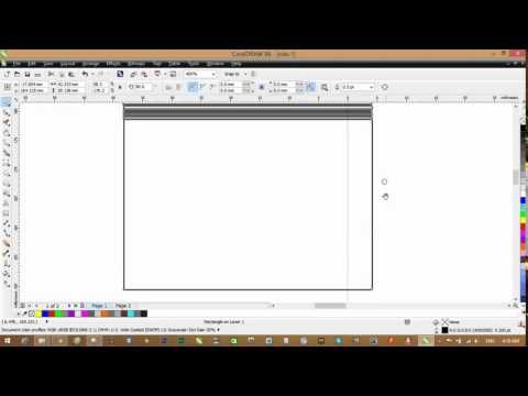 Sử dụng công cụ vẽ hình vuông trong corel x6 0 – How To Use CorelDRAW