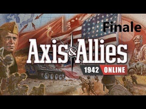 Axis & Allies 1942 Online: Game 2 vs Matt- Finale! |