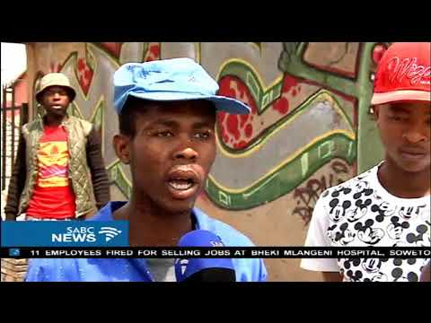 Police investigate the death of Sizwe Mbokazi following a shootout in Alex