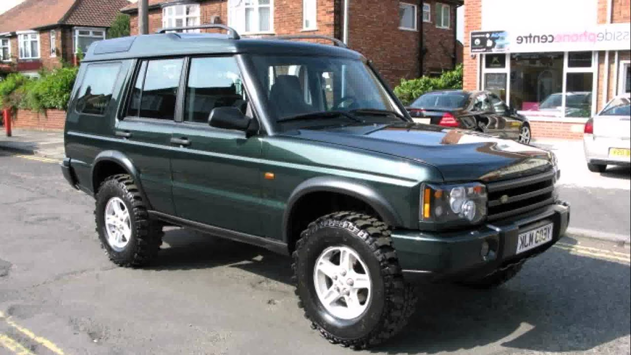 Land Rover Discovery Td5 Tuning Youtube