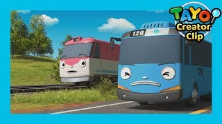 Download Tayo Episode Clip l Tayo and Train Titipo's race! l Tayo the Little Bus Mp3