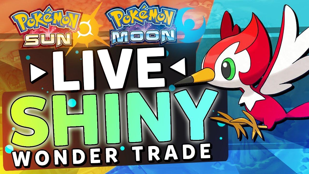 Trade options pokemon on sun and moon