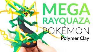 Mega Rayquaza (Pokemon) – Polymer Clay Tutorial