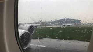 POWERFUL EM RATES A RBUS A380 TAKEOFF   LONDON HEATHROW