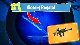 FORTNITE *NEW* SCOPED THERMAL ASSAULT RIFLE GAMEPLAY!!! BEST GUN IN THE GAME?!?!