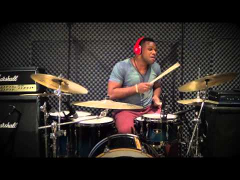 Usher - Caught Up (Drum Cover)