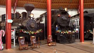 B&O Railroad Museum - part 1 - inside the roundhouse
