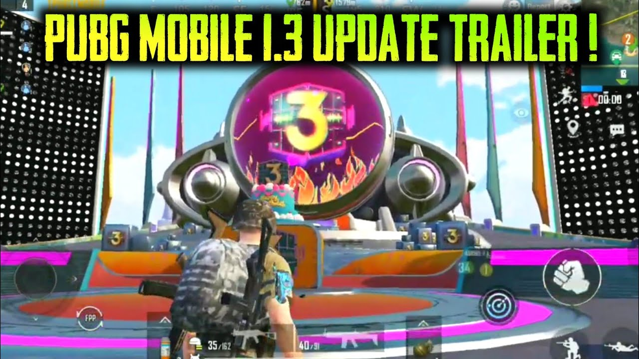 PUBG MOBILE 1.3 UPDATE OFFICIAL TRAILER ! NEW 1.3.0 UPDATE PUBG MOBILE ! #shorts