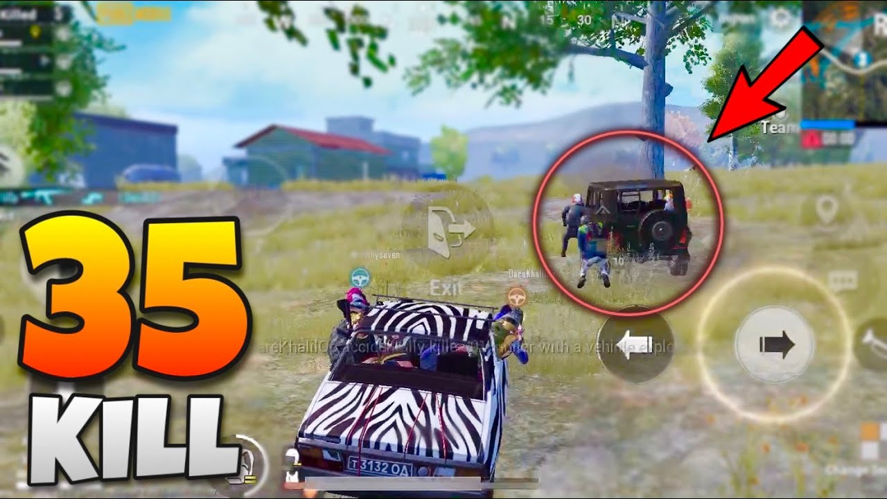 This Is Why You Shouldn't Drive CAR | 35 Kills PUBG Mobile | Skeleton Gaming