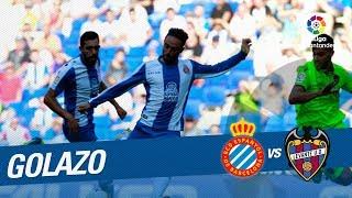 Golazo de Sergio García (1-0) RCD Espanyol vs Levante UD