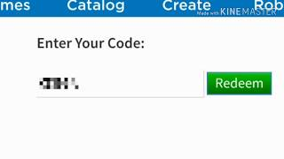 How to use ROBLOX codes on mobile on ROBLOX (English)