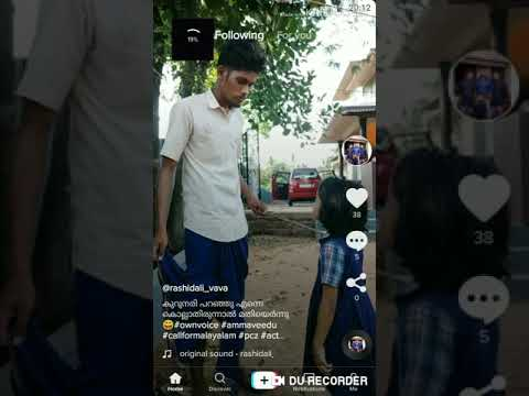 How to do own voice videos in tiktok malayalam.