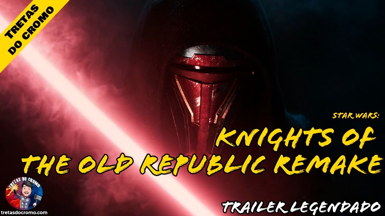 Star Wars: Knights of the Old Republic Remake anunciado com teaser trailer
