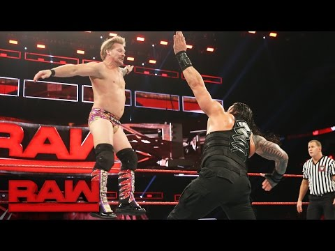 Roman Reigns vs. Kevin Owens & Chris Jericho - United States Title Handicap Match: Raw, Jan. 9, 2017