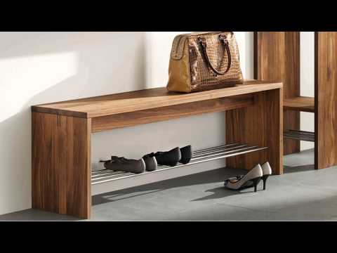 Shoe Storage Benches Perfect For An Entryway