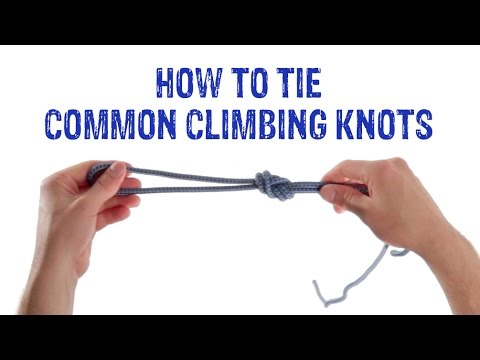 Useful knots for climbing