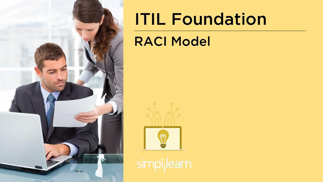 Raci Model In Itil Itil V3 Online Training Youtube
